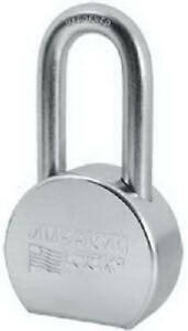 Master Lock Co American Lock 2 1 2 Inch Zinc Plated Solid Steel Keyed alike 5 pi