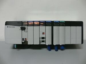 Allen Bradley Logix5572 Controller On 10 Slot Chassis W Ethernet ip x3