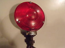 Vintage Red Tractor Tail Light Cyclostat Signal Stat 37