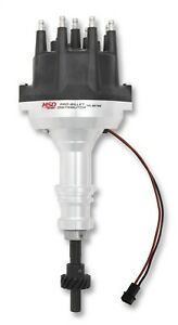 Msd Ignition 85795 Pro Billet Distributor With Small Diameter Cap Fits Ford 302