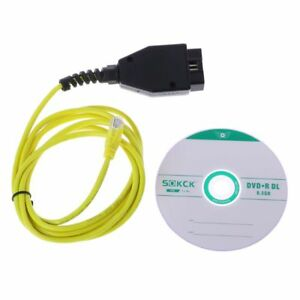 Esys 3 23 4 V50 3 Data Cable For Bmw Enet Ethernet To Obd Obd2 Interface E Sys