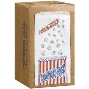 Great Northern Popcorn Company 1 1 2 Duro Bag Bags Case Of 500