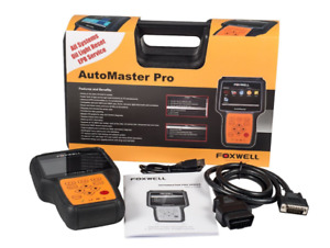 Foxwell Nt644 Automaster All Systems Universal Scan Tool Abs Srs Trans Epb Oil