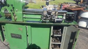 Hardinge Collet Lathe With Two Chucks And All The Collets Plus
