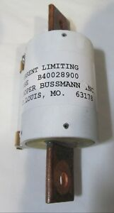 Bussmann B40028900 Current Limiting Barrier Terminal Block Semiconductor Fuse