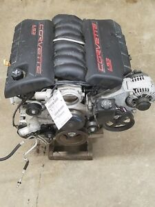 2008 Corvette 6 2 Engine Motor Assembly 25k Miles Ls3 Lift Out No Core Charge