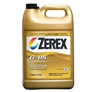 Valvoline Zerex G 05 Antifreeze coolant Concentrated 1gal zxg051 New