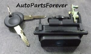 Vw Volkswagen Golf Mk3 Rear Handle Boot Tailgate Lock With 2 Keys 1h6 827 571e