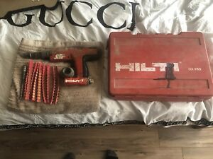 Hilti Dx350 Piston Drive Powder Actuated Nail Gun Tool