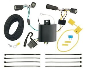 Trailer Wiring Harness Kit For 2015 2018 Ford Edge Se And Sel Models Only