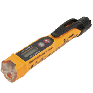 Klein Tools Ncvt 4ir Non contact Voltage Tester W infrared Thermometer ncvt4ir