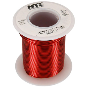 Nte Electronics Wm30 0 5 Wire magnet 30 Awg 1 2 Pound 1615 Spool