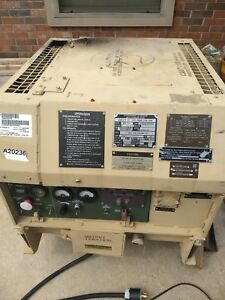 Military Fermont Mep 831a 3kw Diesel Tactical Quiet Generator 7hp Yanmar 81 9hrs
