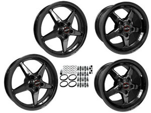 Racestar 17 X 10 5 17 X 7 06 19 C6 C7 Z06 Gs Zr1 Dark Star Drag Wheels