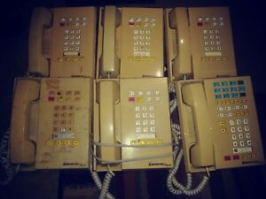 Inter tel Glx 612 3200 612 3201 Standard Phone Ash Lot Of 6 Deal With Executive