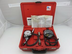 Matco Mcvk Vacuum Fuel Pump Compression Tester Set Kit