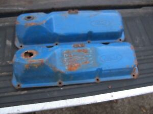 1970 71 72 73 Ford 351c Cleveland Valve Covers Oem Mustang Torino Cougar