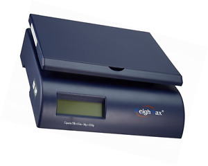 Digital Postal Shipping Scale 75lb Package Weight Bench Pound Letter Mail Box