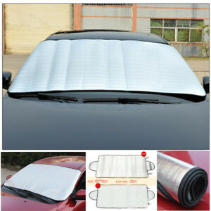 Windscreen Cover Magnetic Car Window Screen Frost Ice Snow Dust Protector Us