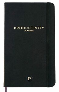 Productivity Planner Daily Planner Non Dated 5 X 8 Accomplish Your New