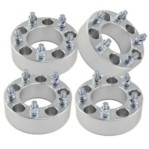 4 1 50 5x5 To 5x4 75 Wheel Adapters Billet 5 Lug Spacers 1 2 X 20 Studs