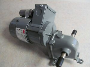 Dayton 1l557 Right Angle Gearmotor 1 16 Hp 9 Rpm 115 230 Volt Tefc