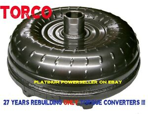 4l80e Chevy Gmc Torque Converter Heavy Duty For Towing Application