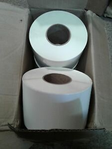 5 X 8 Thermal Transfer Paper Labels W perf 4 Rolls 750 Ea 3000 Labels