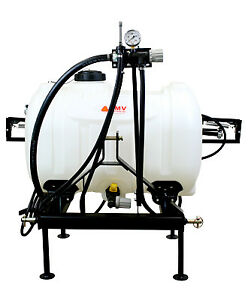 Smv Industries Tow behind Sprayer Category 1 Hitch 3 point 60 gal