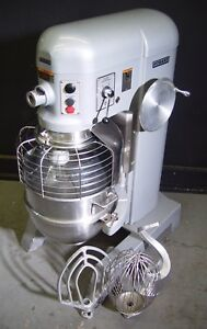 Hobart 60qt 60 Qt Dough Mixer H600 With Safety Cage 2 Hp three Phase 3