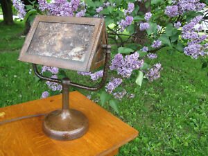 Antique Benedict Studio Mica Desk Lamp W4396 Stickley Era