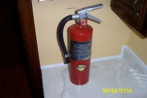 Buckeye 5 Pound Abc Fire Extinguisher Model 5hi Sa 40 Abc