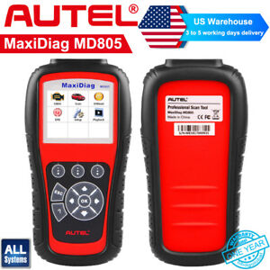 Autel Maxidiag Md805 All System Ds Model Obd2 Code Reader Abs Sas Epb Oil Reset