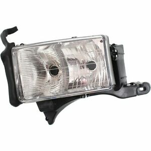 Headlight For 99 2000 2001 Dodge Ram 1500 Left Dual Beam With Sport Package