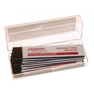 Crosstex Tpxxt Articulating Paper Xx thin Blue 00125 32 Microns 144 sheets
