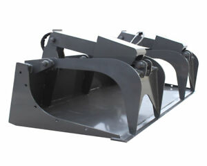 New Prowler 72 Demo Grapple Bucket Made In Usa Fits Bobcat Other Skid Steers