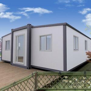 Butterfly Expandable Mobile Home 80sqm Container Home Prefab House