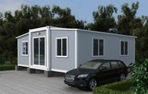 Butterfly Expandable Mobile Home 40sqm Container Home Prefab House Tiny Home
