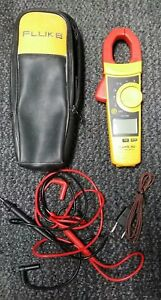 Fluke 902 True Rms Ac Current Amp Clamp Meter Multimeter W leads