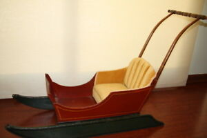 Restored Antique Children S Sled Sleigh Christmas 1920 S