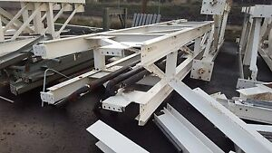 2012 Steel I Beam 10 1 4 X 5 7 8 X 19 5 1 2 34 Long 26 Lbs Per F