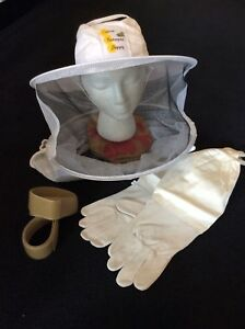 Beekeeping Protective Wear Combo Beekeeper Veil Beekeeping Gloves Us Seller