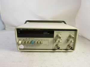 Hp Agilent 5314 A Universal Counter W Option 002 Battery