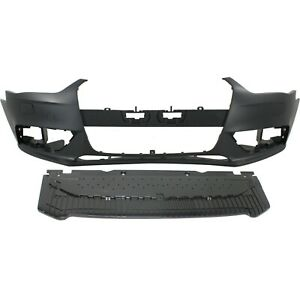 New Bumper Cover Facial Kit Front Au1000189 Au1087100 8k0807065cgru 8k0807611