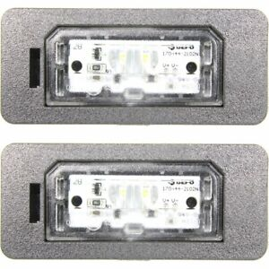 New License Plate Lights Lamps Set Of 2 Rear Driver Passenger Side 323 Pair
