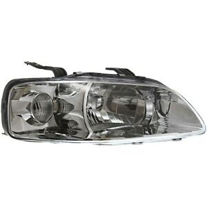 Headlight For 2004 2007 Chevrolet Aveo Right Clear Lens Halogen With Bulb