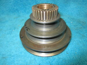 Original Atlas Clausing 4804 12 Metal Lathe Headstock Drive Pulley