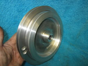 Rare Original Atlas Clausing 4804 12 Metal Lathe 2 Step Drive Pulley Dl 811