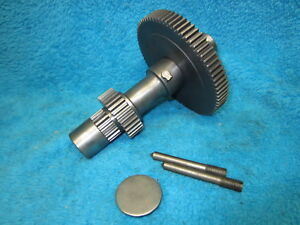 Rare Original Atlas Clausing 4804 12 Metal Lathe Back Gear Assembly Dl 294 ss