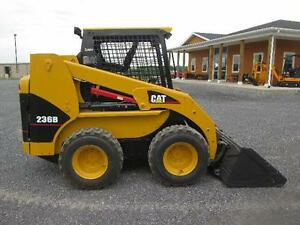 Cat 236b Farm Skid Steer Loader
